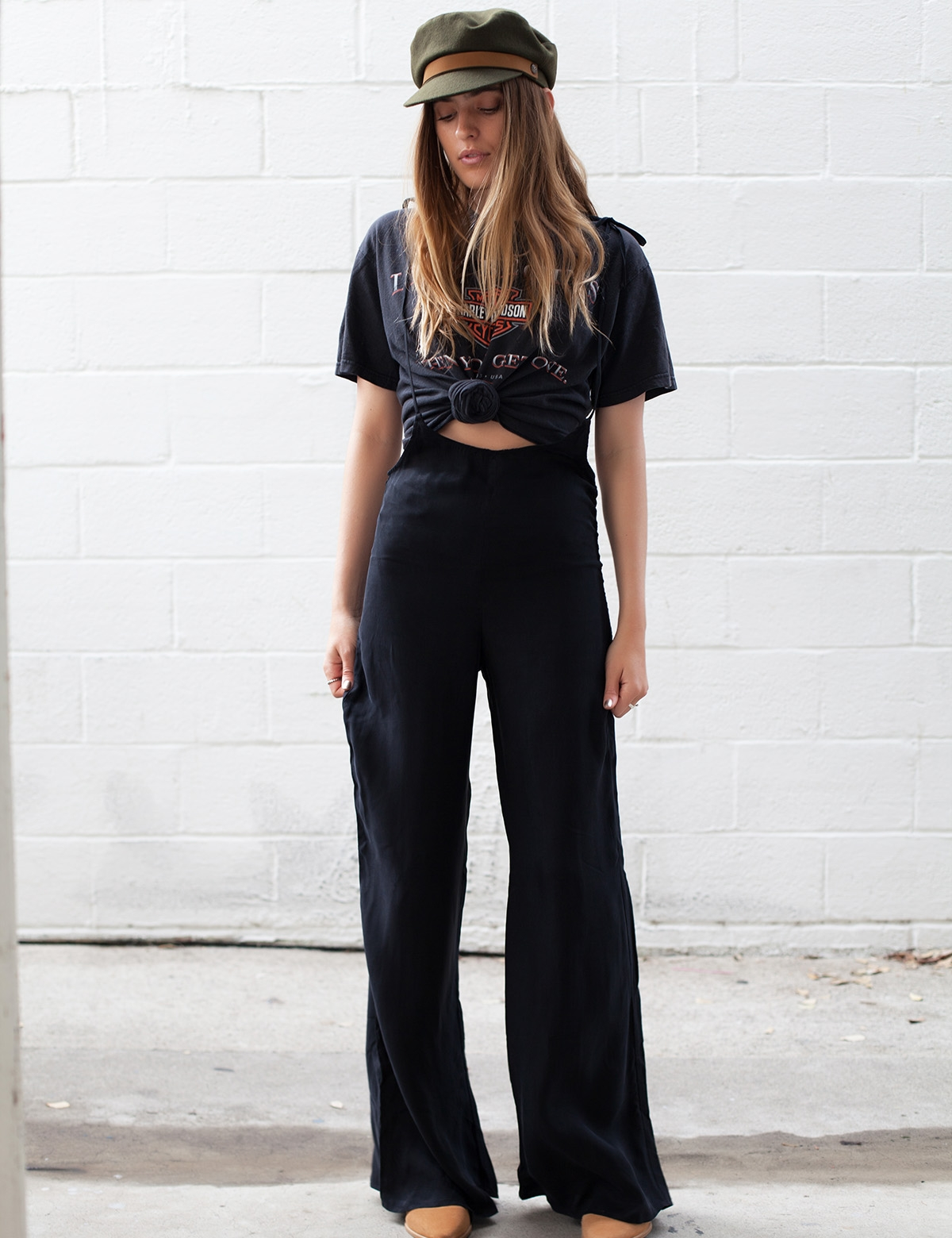 Claire Black Jumpsuit