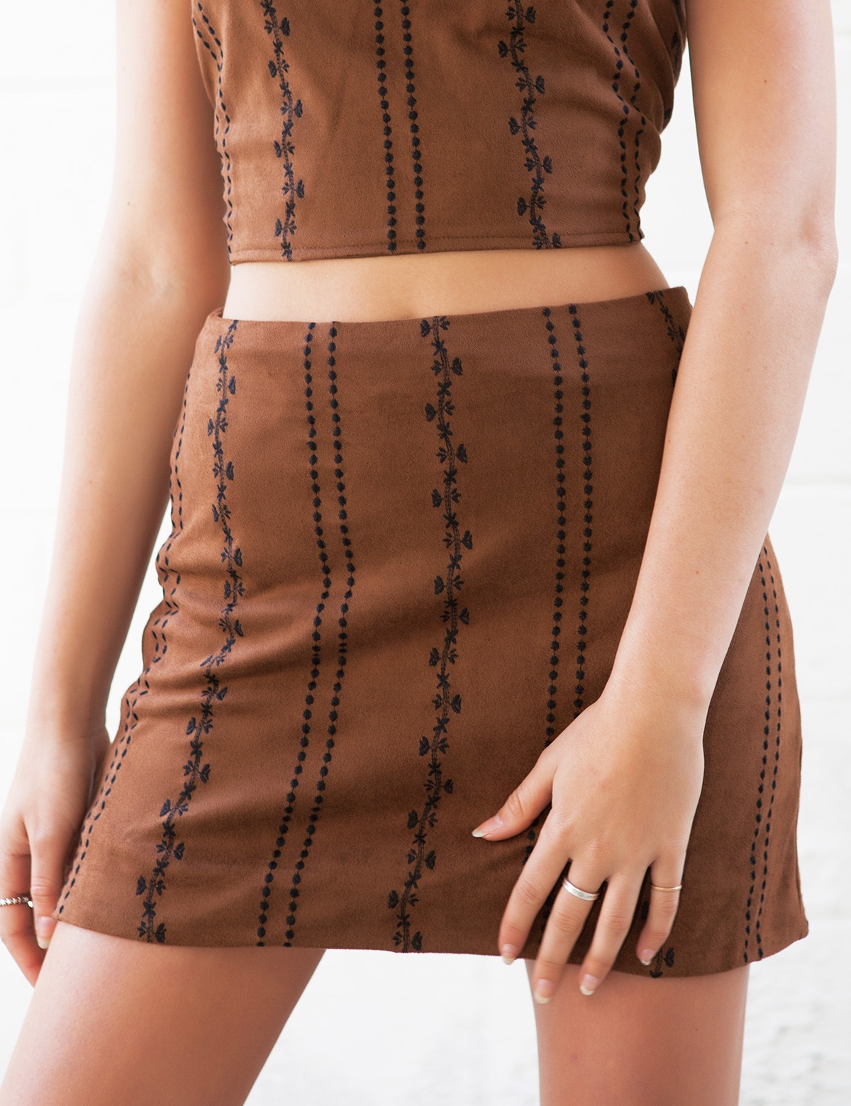 Lo Lo Brown Skirt
