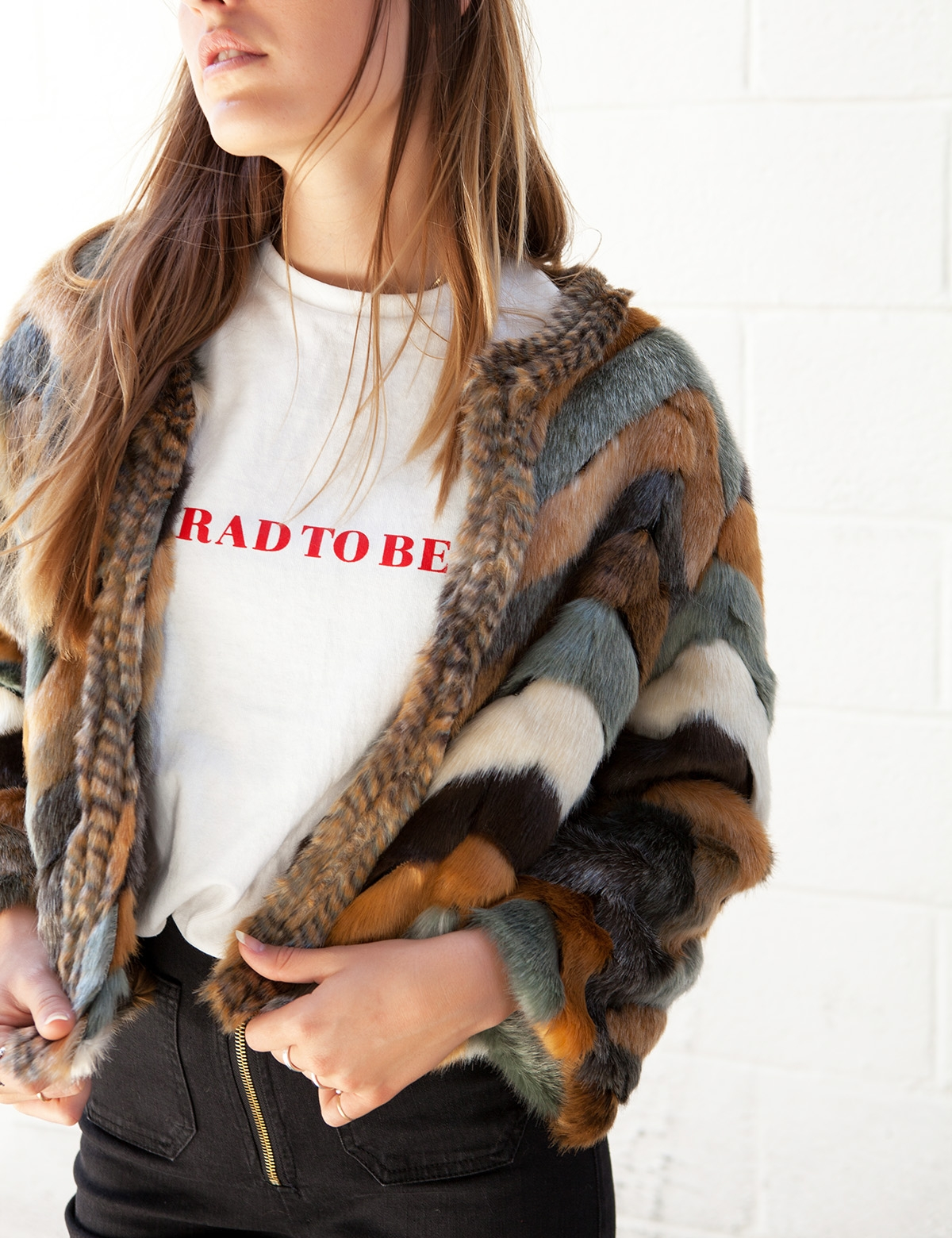 East Coast Faux Fur Coat