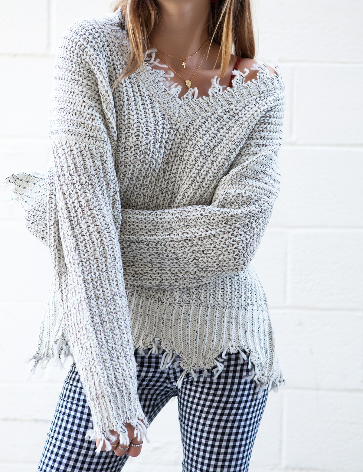 Tahoe Speckled Sweater