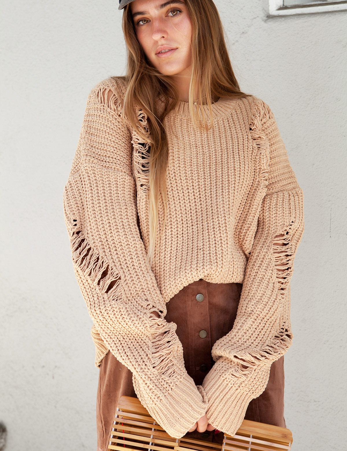 Cora Tan Sweater