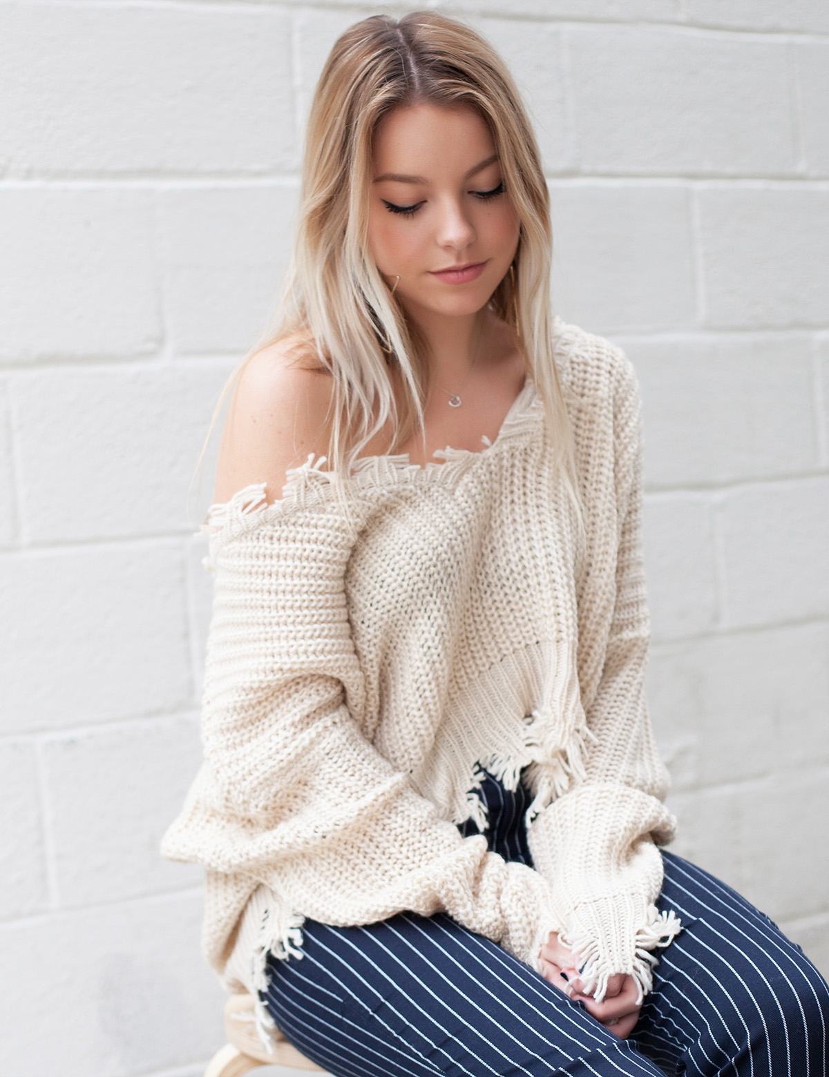 Hayden Tan Sweater
